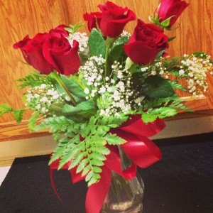 Valentines Day Roses for Lovely LaLa