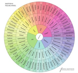 Color Wheel of Emotion